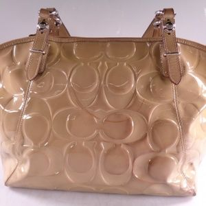 EUC Coach Patent Leather Tote